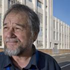 Dunedin Hospital project programme director Mike Barns in front of the soon-to-be-demolished...
