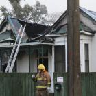 Fire crews from Mataura and Gore rushed to a house fire in Forth St, Mataura, about 4am yesterday...