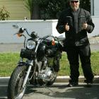 Deceased Athol man Russel Blackford  with his 1998 Harley-Davidson 98 Sportster Custom 120, which...