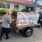 Goods donated from Lincoln High School students and the wider community will be packed into a...
