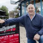 Bully Hayes owner Wayne Jones said it will cost between $20,000-$30,000 to rename his restaurant...