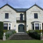The Oamaru stone facade of Casa Nova House will be restored in September, once scaffolding has...