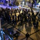 Protesters gather over the shooting of a Palestinian man who was shot by Israeli Police, hundreds...