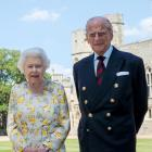 The Queen and Prince Philip have been spending lockdown at  Windsor Castle. Photo: PA wire/Pool ...