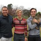 Dion Morrell Shearing owners Dion Morrell and Gabriela Schmidt-Morrell, and Ursin Morrell, are...