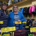 Trents Leather Goods co-owners Dana Gray (left) and Karen Gray bought a Dunedin luggage business...