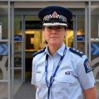Southern police district road policing manager Inspector Amelia Steel. Photo: Shawn McAvinue