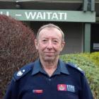 Waitati Volunteer Fire Brigade deputy chief fire officer Lindsay Scott.