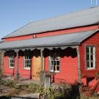 The front of Bridesdale Farm's McBride Cottage. Photo: Mountain Scene