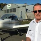 Ashburton Aviation Pioneers flying instructor Ron McFarlane. Photo Toni Williams