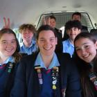 Ashburton Trust and Lion foundation funds have helped buy a new minivan for Ashburton College...