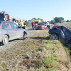 Two vehicles were involved in a collision on Kaka Point Rd near the intersection with Factory Rd...
