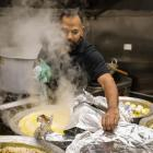 Tanveer Jahangir offered free food for all essential workers, staff from the DHB, St John, the...