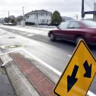 The intersection of Forbury, Bay View and Allandale Rds, in St Clair, where a peanut-shaped...