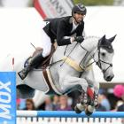 Clarke Johnstone rides Balmoral Sensation at the Horse of the Year event at the Hawke's Bay A&amp...
