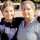 Maddie Collins with her mother Sarah Manson-Collins. Maddie suffers from kidney disease,...