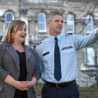 The people in charge of Covid quarantine, Cabinet minister Megan Woods and Air Commodore Darryn...