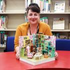 Waitaki district libraries digital services and reference librarian Debbie Price-...