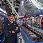 Looking forward to being part of the inaugural crew of Aotearoa, the navy's largest  ship, is...