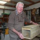 Hampden resident Peter Whitehead kept himself busy during lockdown by making predator traps for...