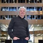 Robert Aitken at the University of Otago Business School yesterday. PHOTO: PETER MCINTOSH