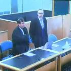 Lawyers Shane Tait (left) and Jonathan Hudson will no longer represent the Christchurch mosque...