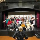 Musical Theatre Dunedin theatre restaurant director Helen Horsnell puts the cast through their...