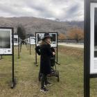 Wanaka local Alice Spears with her son, William (11 weeks), would like more outdoor creative...