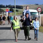 Waitahuna school bus driver Val Fox has hung up her keys after 40 years of service. One of her...