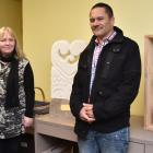 Manager of Stopping Violence Dunedin Cinnamon Boreham (left) and Carol Murdoch, of Te Whare...