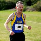 Otago's Robbie Johnston competes in the New Zealand Cross-country Challenge at Chisholm Links on...