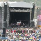 Toni Childs lets rip at last this year's Gibbston Valley Winery Summer Concert. Photo: Mountain...