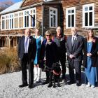 Recipients (from left) Gordon Wilson, Lydia Bradey, Pip McCann, Gary Dickson, Taylor Reed and...