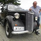 Warwick Stalker was gifted a model of his original car, a 1947 Ford Prefect, for his 70th...