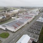 The disused section of paper mill where ouvea premix is stored. PHOTO: STEPHEN JAQUIERY