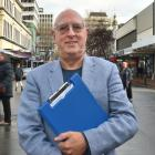 Urban Access Dunedin chairman Alan Race says less than a quarter of Dunedin residents get to the...