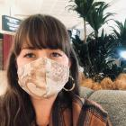 Beckie Wilson founder of Face It NZ a company manufacturing face masks in New Zealand. Photo:...