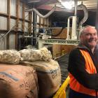 Barry Mulcahy says if his dad were here, ''he would tell me to buy as much wool as I can, lock...