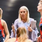 Marianne Delaney-Hoshek will extend her term with the Tactix to seven years. Photo: Getty