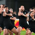The All Blacks perform the haka during last year's Rugby World Cup. Photo: Getty Images