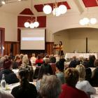 Launch of Gloriavale Leavers' Support Trust last year. Photo: RNZ