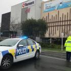 Police at the scene in Hamilton this morning. Photo: NZ Herald