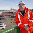 Mission for Seafarers Lyttelton chaplain John McLister. Photo: Geoff Sloan