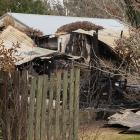A fire at Tony and Lyn Prendergast's West Melton home reignited after firefighters left,...