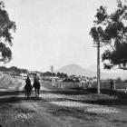On the main south road, looking towards Saddle Hill, near Dunedin. — Otago Witness, 17.8.1920.