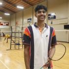 Badminton Southland player Shevin Shedden (15), of Invercargill, who won the U19 boys singles...