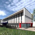 An artist's impression of the new Salvation Army Queenstown building due to be completed by the...