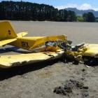 Pilot Peter Cree and his passenger Louey Sandlant both died on impact when the home-made plane...
