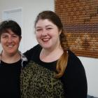 The Valley Project community development co-ordinator Charlotte Wilson (left) and project leader...