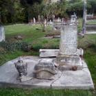Christian Jacob Waeckerle's headstone. Photo: Supplied